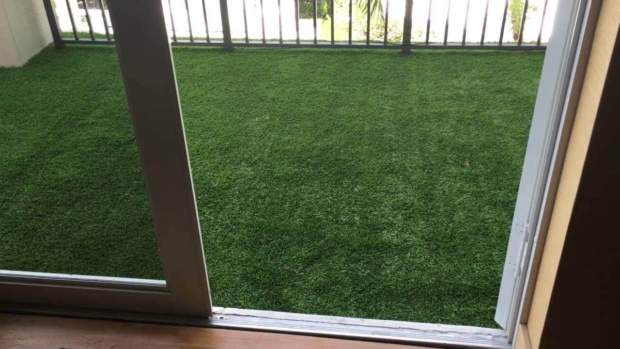 Artificial Grass Balcony Youtube