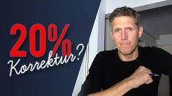 Blackstone warnt: 20% Kurseinbruch