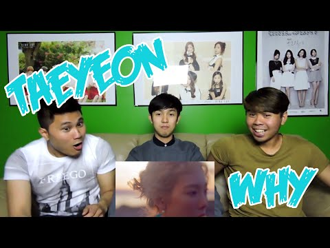 TAEYEON - WHY MV REACTION (FUNNY FANBOYS)