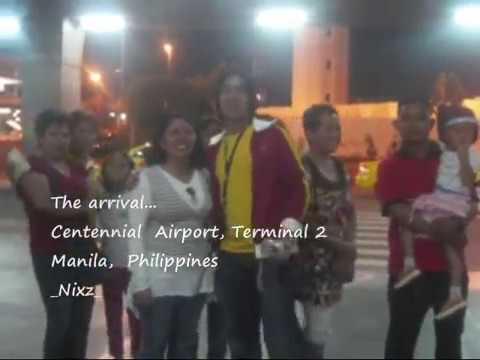 Arrival to the philippines - Touching - Balikbayan This is our story- Pinoy abroad