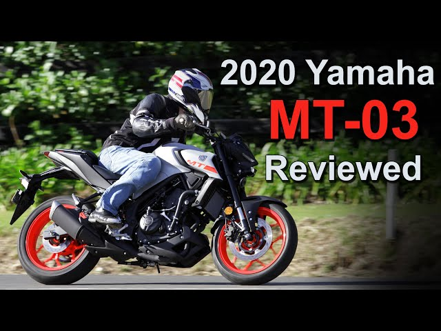 2020 Yamaha MT-03 Review | Better Suspension | More Refined