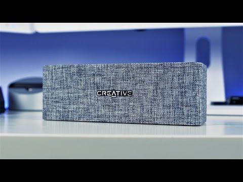 Creative Labs NUNO Bluetooth Speaker Review (4K)