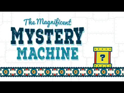 The Magnificent Mystery Machine x5 50 MYSTERY GAMES! (Giveaways)  