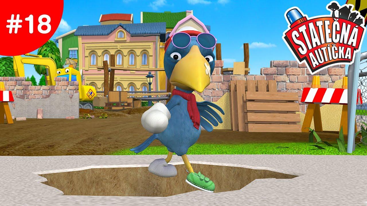Statečná autíčka - Pohromákův nešťastný den | Kreslené pro Děti | Animované pro Děti