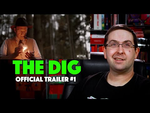 REACTION! The Dig Trailer #1 – Lily James Netflix Movie 2021
