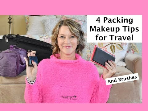 4 Packing Makeup Tips for Travel (In a Carryon Suitcase)