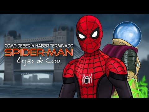Como Spider-Man Lejos de Casa Debería Haber Terminado