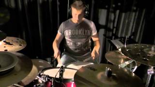 Shut Up And Dance With Me - Drum Cover - Bob Thomas