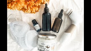 Updated Minimalist & Zero-Waste Skincare Routine / Clear Skin & Heal Acne / Oil Cleansing Recipe