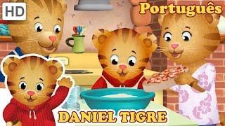 Daniel Tigre em Português - Comer Alimentos Saudáveis