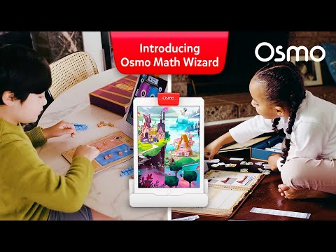 Introducing Osmo Math Wizard - A Magical Self-Paced Math Adventure!