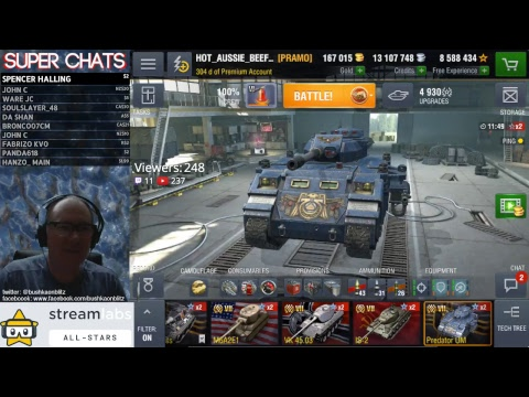 NA live stream and tank Giveaway! World of Tanks Blitz