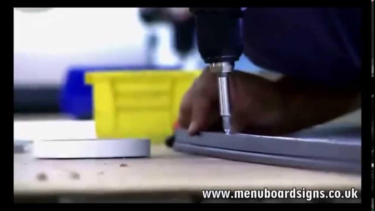 LED MENU BOARD PRODUCTION
