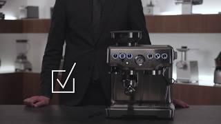 Кофейная станция BORK C804/C805. Видеоинструкция, как очистить кофемолку