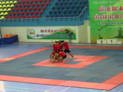 Aerobic - Trường CĐSP Đà Lạt - Lâm Đồng