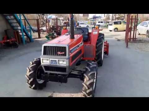 Трактор для уборки территорий YANMAR FX28D Видео