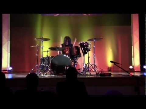 Justin Walker's award winning drum solo at Washington's Got Talent on 12613 please like this video