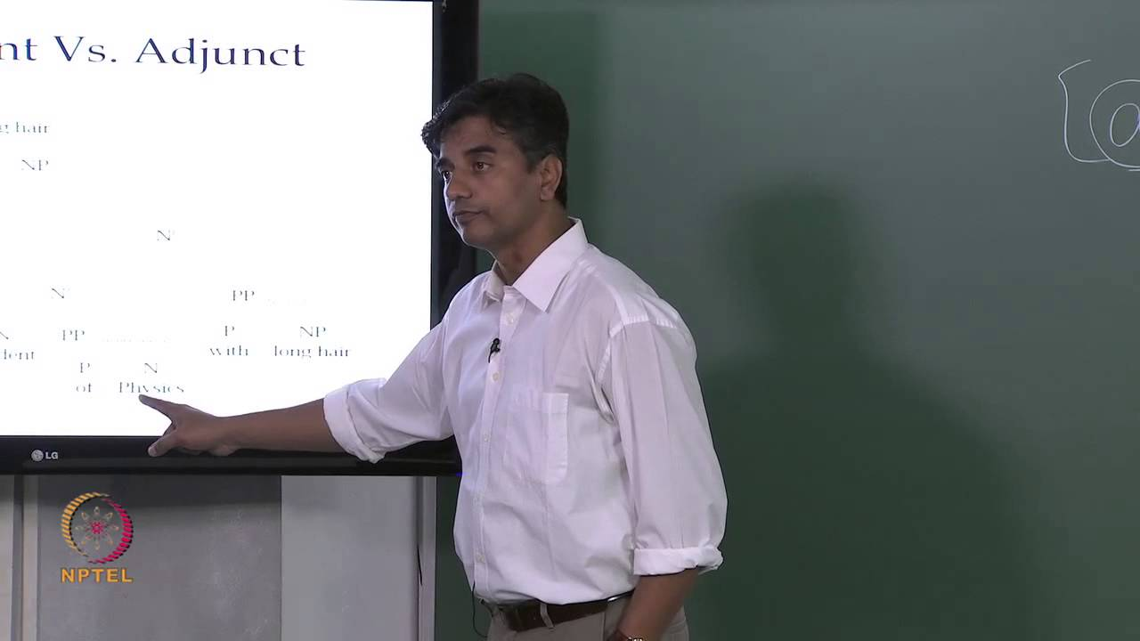 Mod-01 Lec-30 Syntax: X-bar Theory Cont…