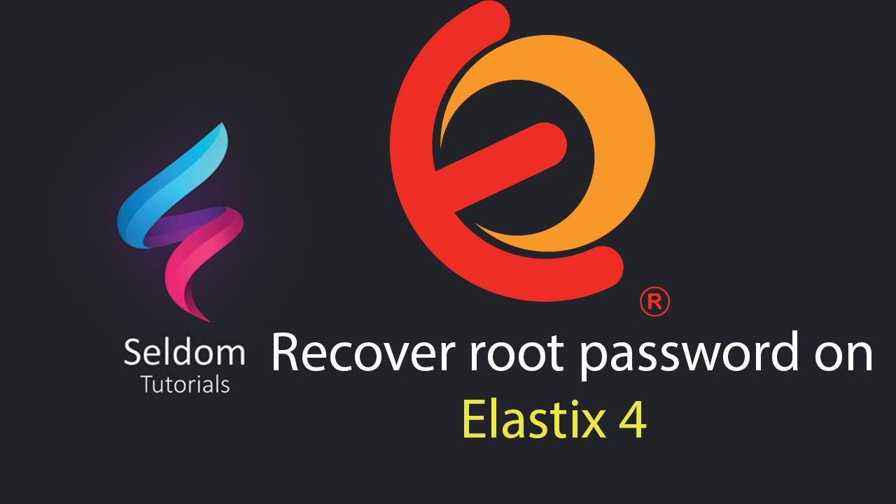 Elastix 4 Recover/reset root password