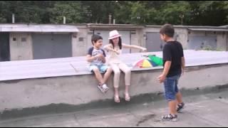 Моё первое видео на ютуб!Смешная сценка и киноляпы