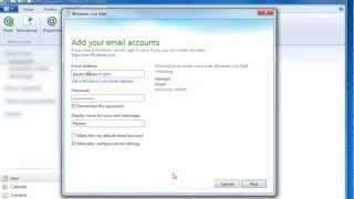 How to Set Up Windows Mail, Windows Live Mail, Outlook, or Mail.app