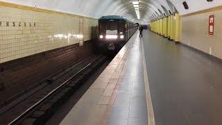 Номерной на станции Рижская