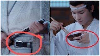 """Nhặt """"sạn"""" trong phim hoa ngữ : thắt lưng, quạt điện mini xuất hiện trong phim cổ trang"""