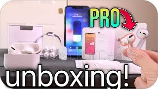AirPods Pro VS AirPods 2 - Unboxing & Review!