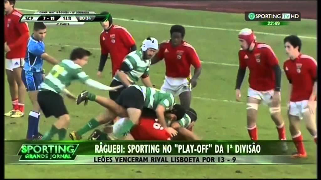 Rugby :: 18J :: Benfica - 9 x Sporting - 13 de 2014/2015