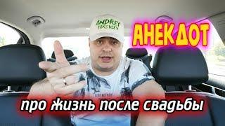 Анекдот про жизнь после свадьбы - 11.08.2019