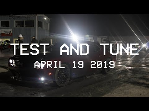 TEST AND TUNE - APRIL 19, 2019: FIRST TIME AT THE TRACK