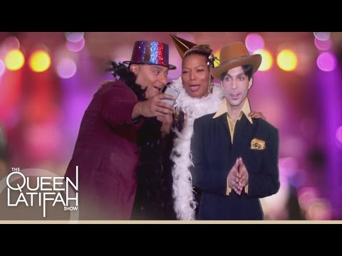 Russell Peters Takes A Selfie With Prince  | The Queen Latifah Show