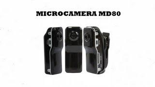 Recensione Mini Videocamera MINI DV  MD80 - Softair ITA