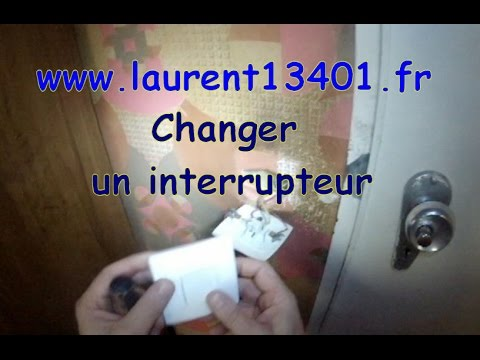changer un interrupteur youtube. Black Bedroom Furniture Sets. Home Design Ideas