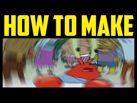 How To Make Mr Krabs Meme Blur In Photoshop 2017 (QUICK & EASY) - Confused Mr Krabs Dizzy Tutorial