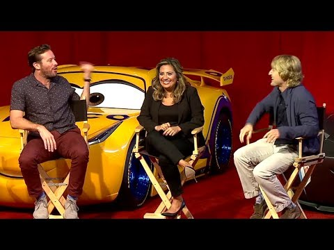Cars 3 Press Conference - Owen Wilson, Armie Hammer, Cristela Alonzo, Kerry Washington