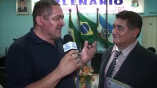 João Batista expressou a sua felicidade ao ser contemplado com a cidadão Quixereense