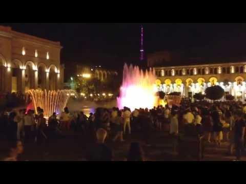 Yerevan Piazza Repubblica - La Fontana Che Canta E Che Balla