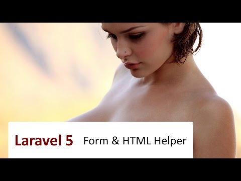 #10 Laravel 5: Form & HTML Helper