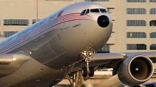 AIRBUS A330 LANDING - Turkish Airlines Retro (4k)