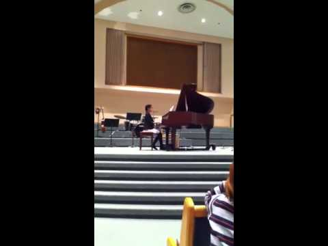 Louise's 2nd piano recital