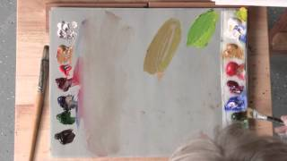 Color Mixing Tips for Realistic Greens in Acrylic or Oil Paint