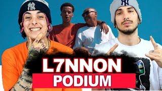 L7NNON - Podium (prod. Papatinho) | REACT / ANÁLISE VERSATIL
