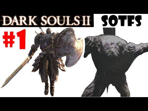 Dark Souls 2 Scholar of the First Sin: Gameplay en español - ULTIMO GIGANTE + PERSEGUIDOR! EP.1