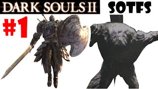 Dark Souls 2 Scholar of the First Sin: Gameplay en español - ULTIMO GIGANTE + PERSEGUIDOR! EP.1