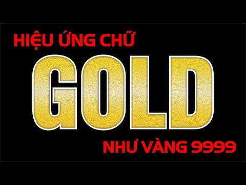 Hướng Dẫn Hiệu Ứng Chữ Màu Vàng Golden Như Vàng 9999 Trong Corel Draw 2021 | Golden Effect In Corel