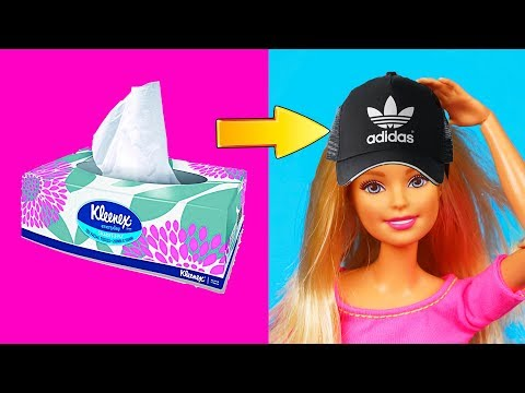 DIY Barbie Dresses | Making Easy Clothes for Barbies Dolls | Creative Fun for Kids