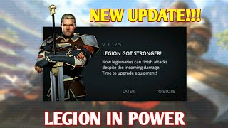 Shadow fight 3 New update: Legion in power| Weapon changes legion