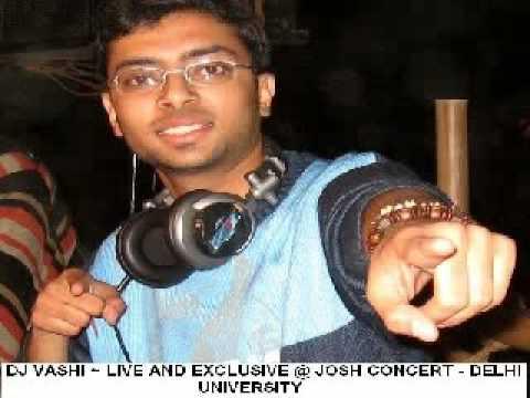 Lil Ash aka Dj Vashi Live @ Josh - Delhi University Concert - 5th December 2008