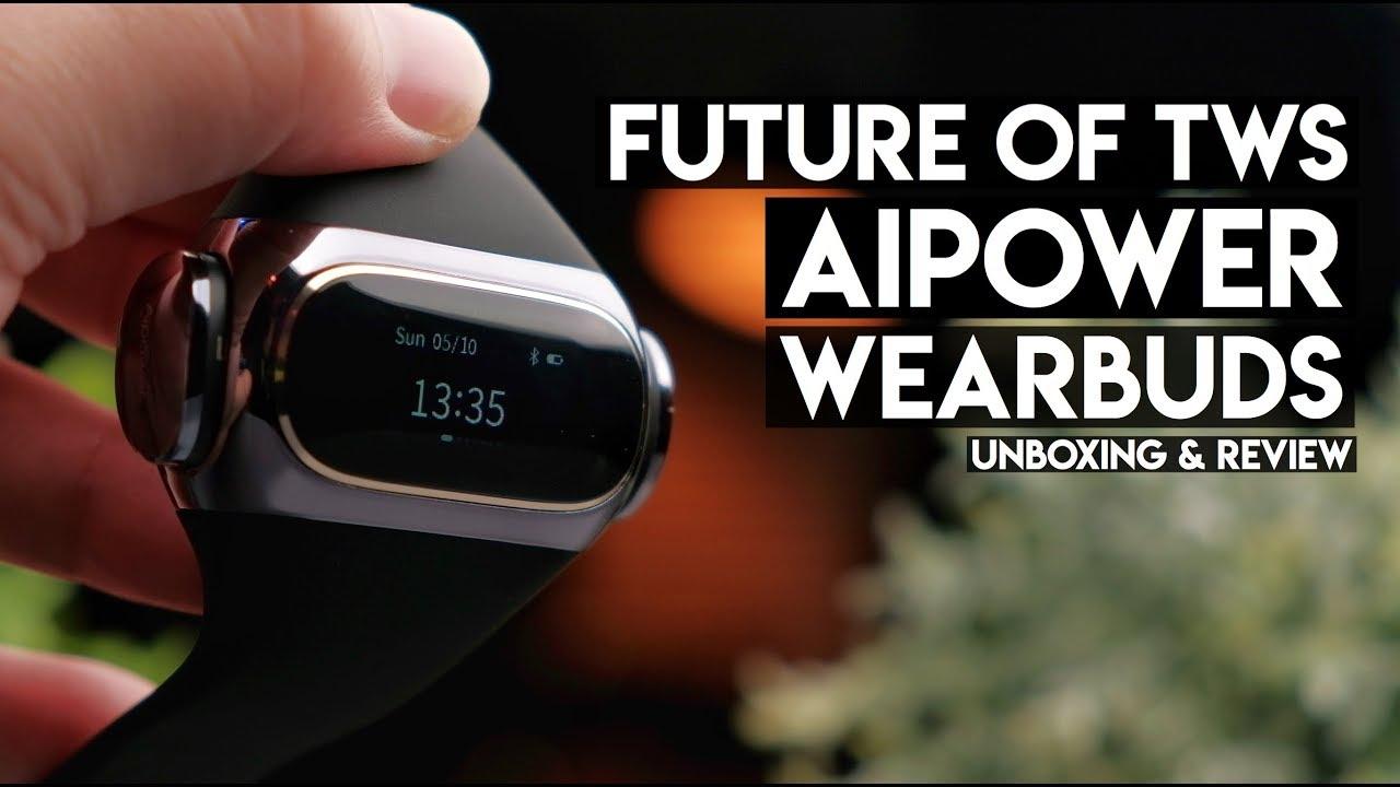 Future of True Wireless Earbuds! AiPower Wearbuds!